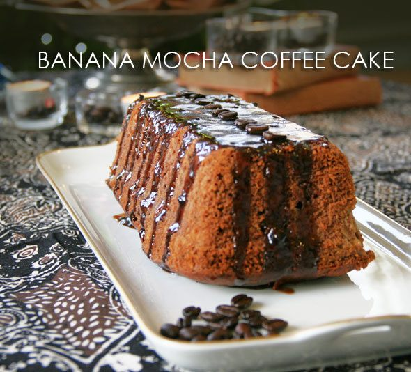 banana mocha coffee cake
