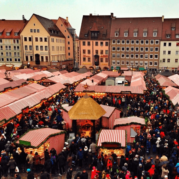 Nüremberg Christmas market,, photo by @dreameurotrip on Instagram