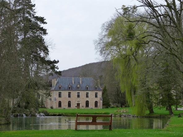 Abbey in Burgundy, France