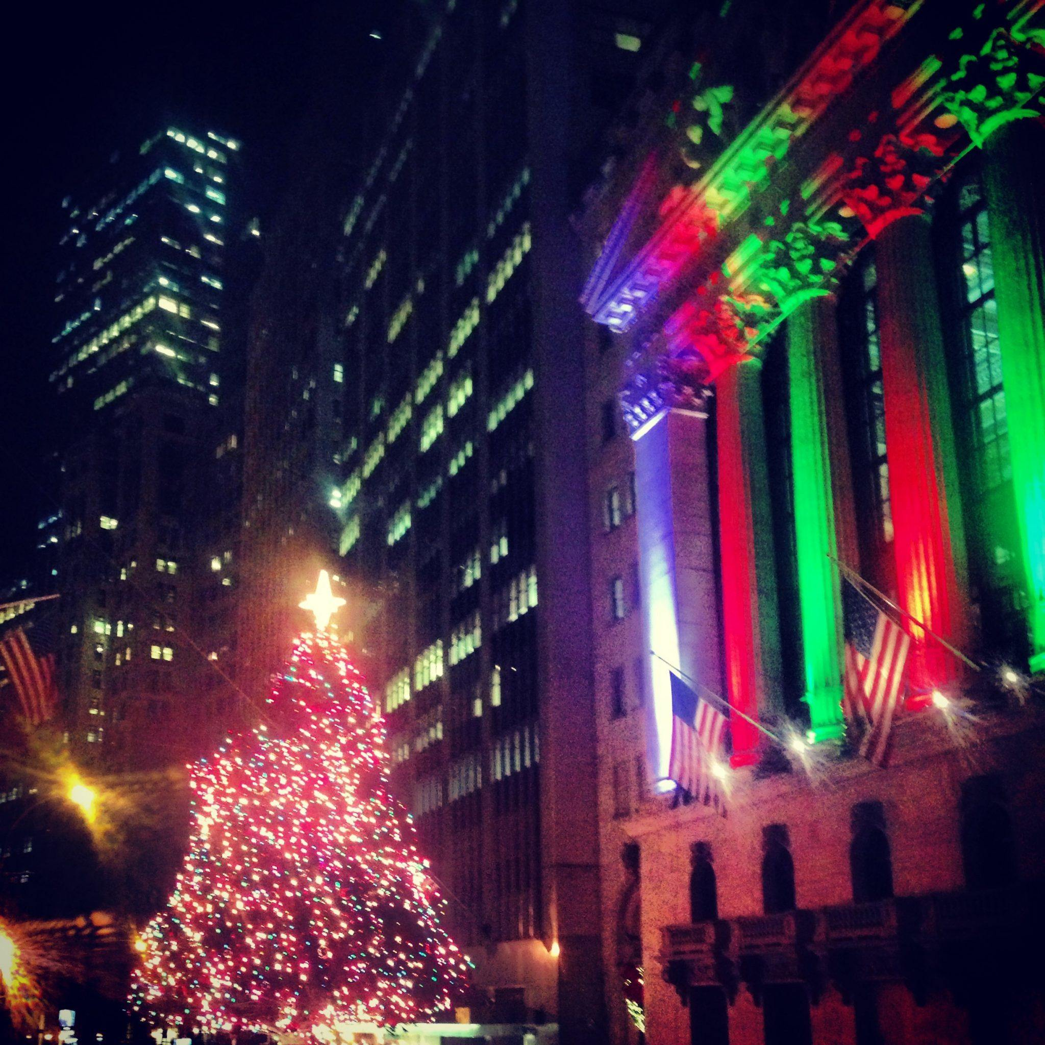 Wall St Tree