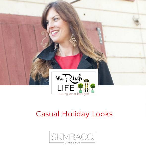 Casual holiday style by Adriene Shubin