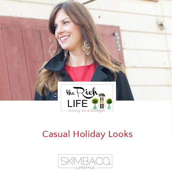 Casual holiday style by Adriene Shubin