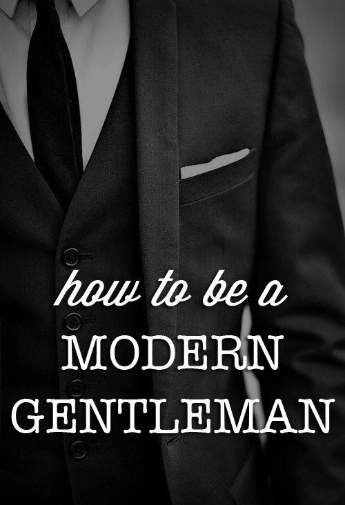 how-to-be-a-gentleman