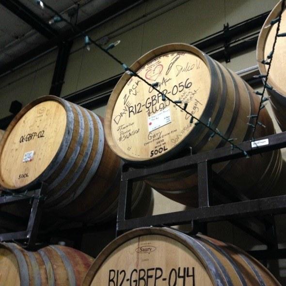 Adelaida Cellars Barrels