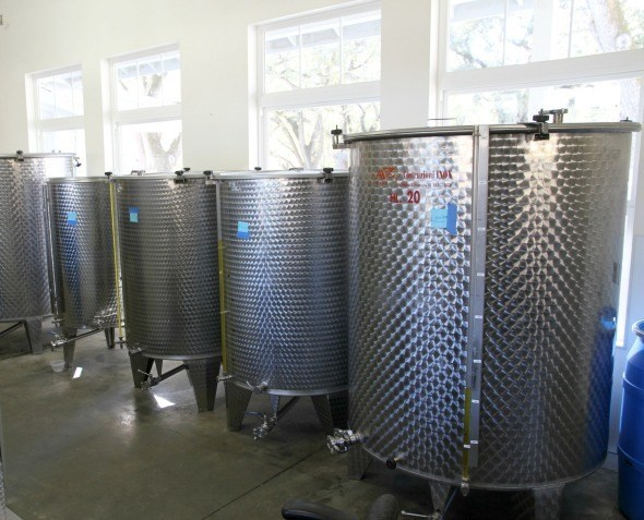 Pasolivo Olive Oil Tanks