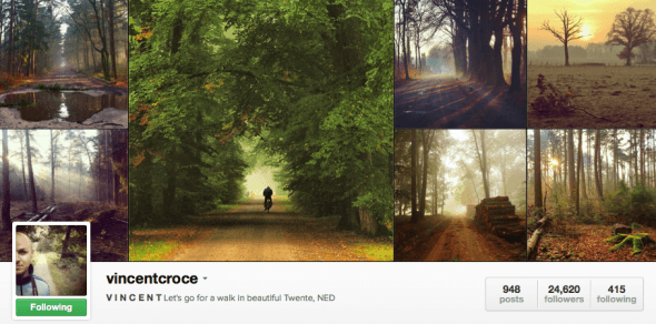 Featured Instagrammer in The Netherlands @vincentcroce