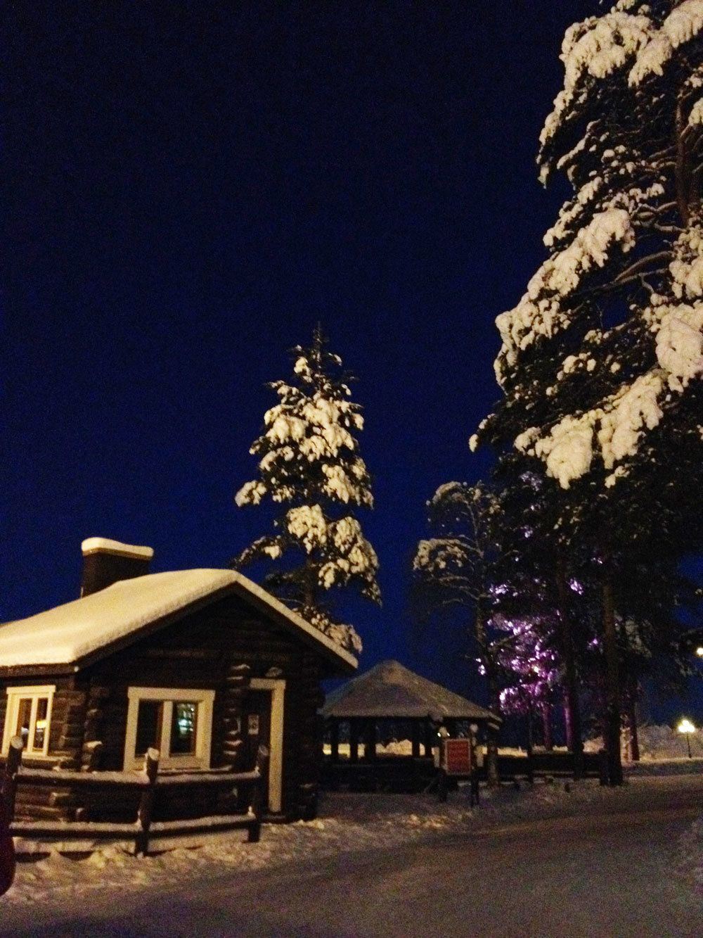evening in Lapland