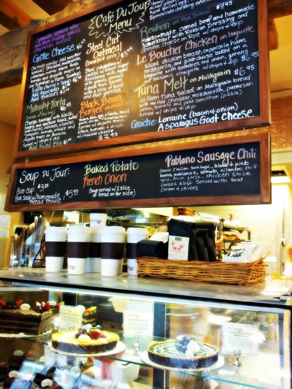 La Farm Bakery is a local favorite.