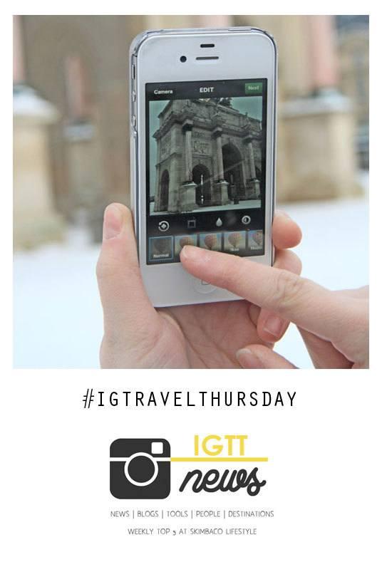 Instagram travel photography