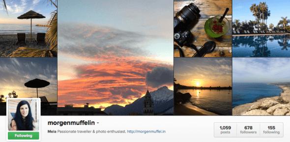 Follow Morgenmuffelin on Instagram