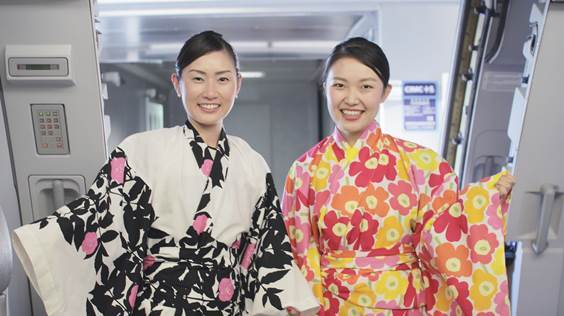 finnair marimekko kimonos