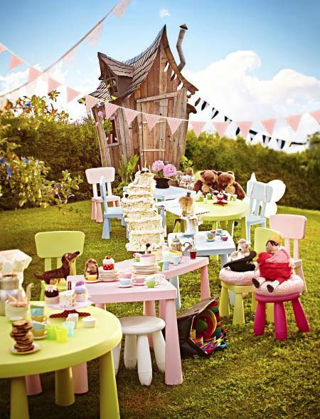 outdoor parties for kids