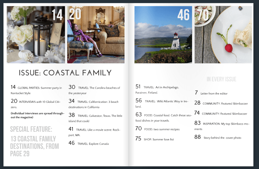 Skimbaco Lifestyle Issue 3: Coastal Family Summer