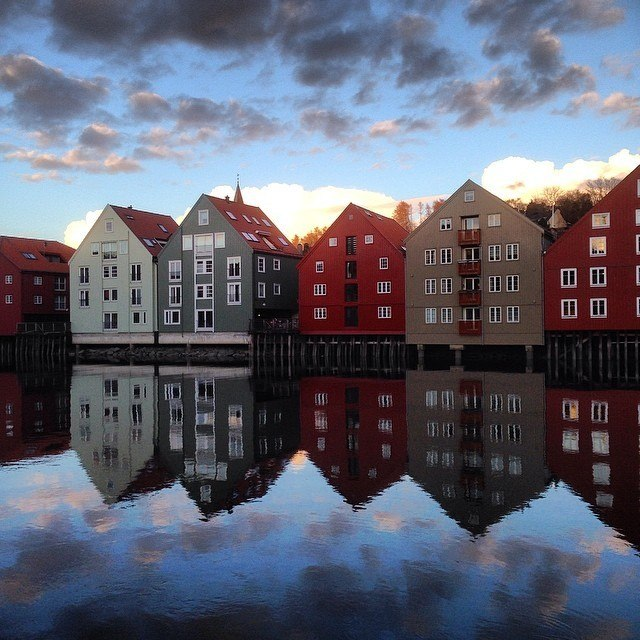 Norway's Trondheim by houseofanais on instagram | http://instagram.com/houseofanais