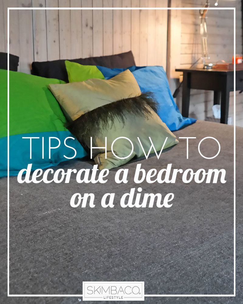 Tips how to decorate a bedroom on a budget