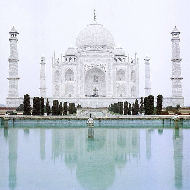 instagram travel photo taj mahal