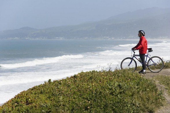 Tourist Cycling is popular at Ritz-Carlton Half Moon Bay