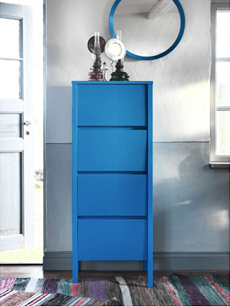 NORDLI chest of drawers from the 2015 IKEA catalog