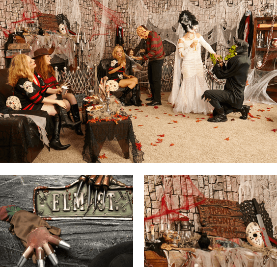 horror movie themed Halloween party