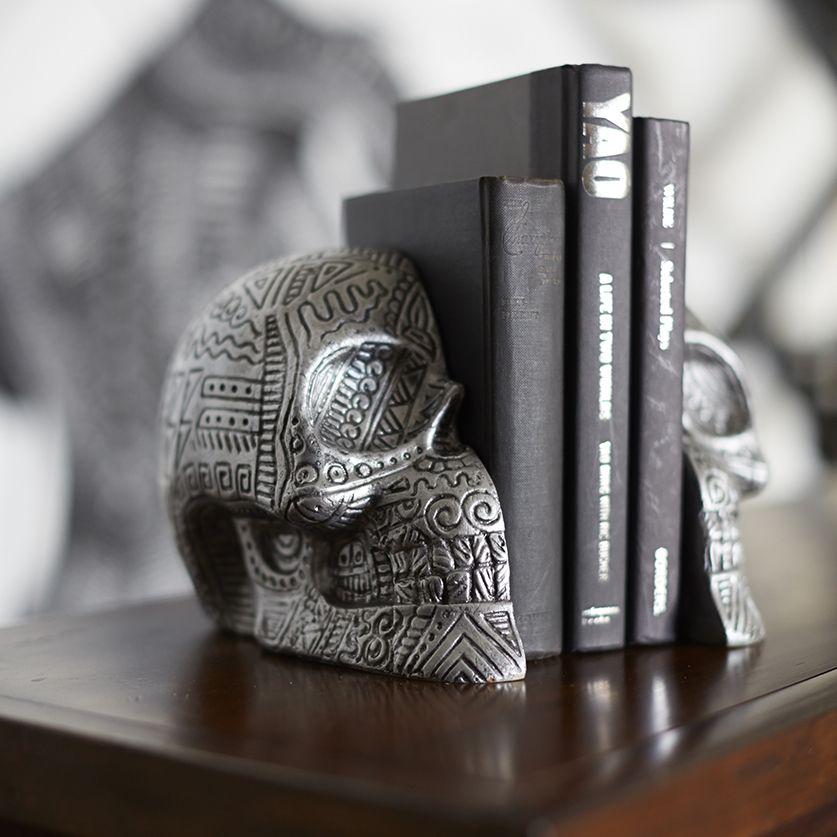 Zio-Ziegler-PBteen-Skull_Bookends
