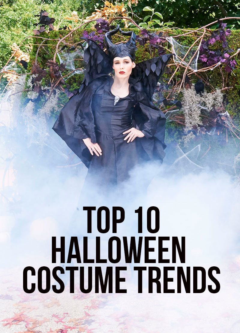 top 10 halloween costume trends