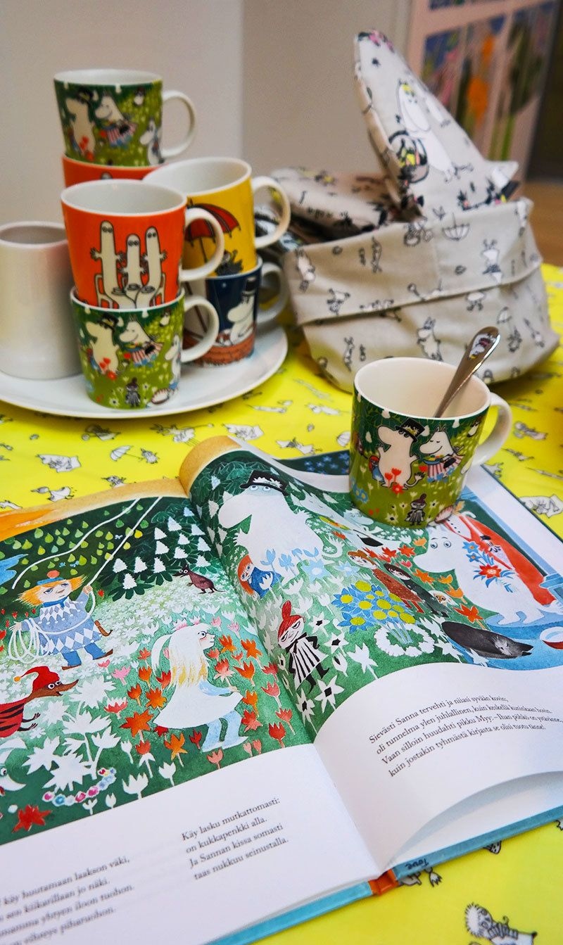 Moomin inspired home ware