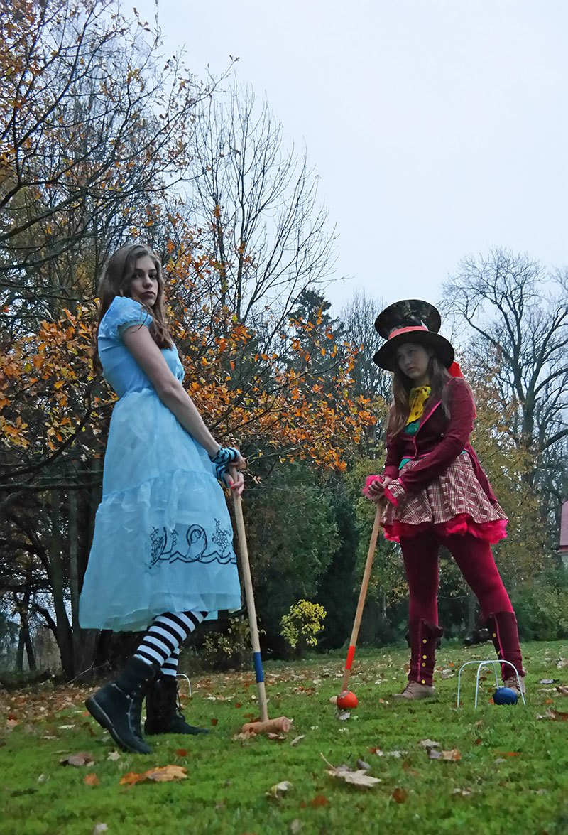 Alice in Wonderland and Mad Hatter