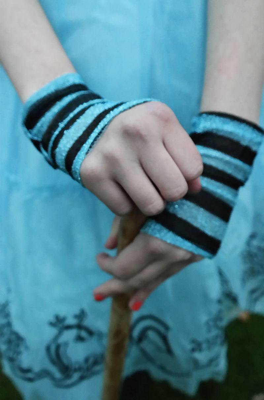 Alice in Wonderland costume details