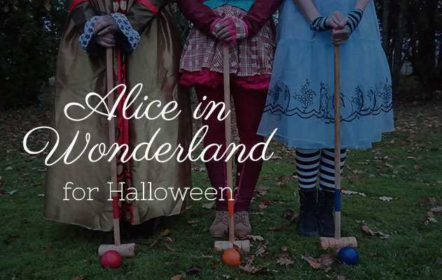 Alice in Wonderland for Halloween