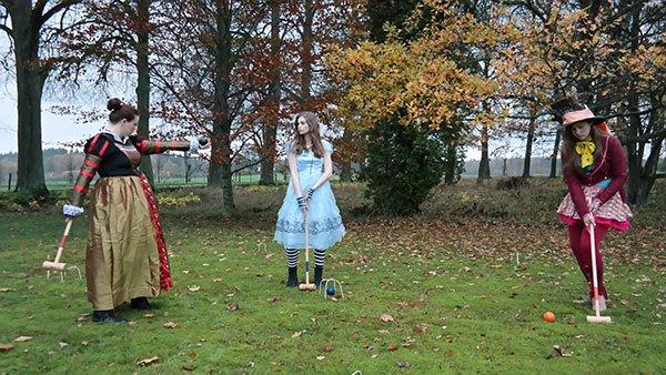Alice in Wonderland for Halloween