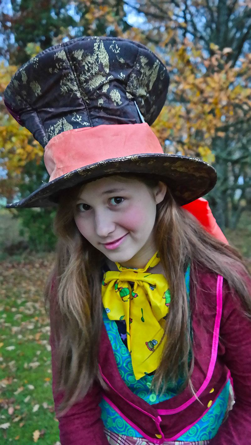 Mad Hatter costume for Halloween