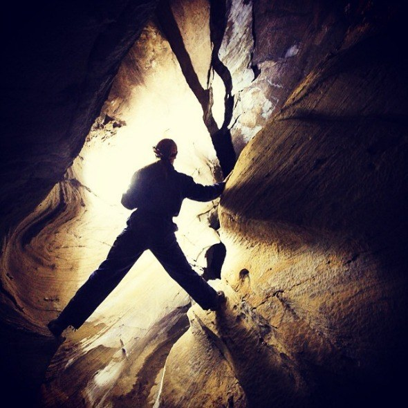 Caving in Northern Norway I @SatuVW I Destination Unknown