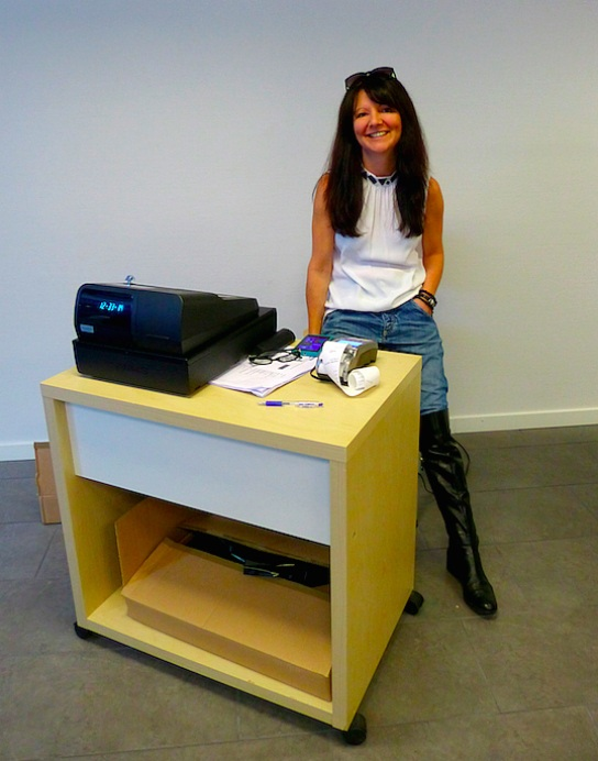 Pop-up store manager Isabella