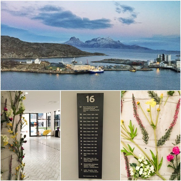 Views from Scandic Havet in Bodø, Northern Norway I @SatuVW I Destination Unknown