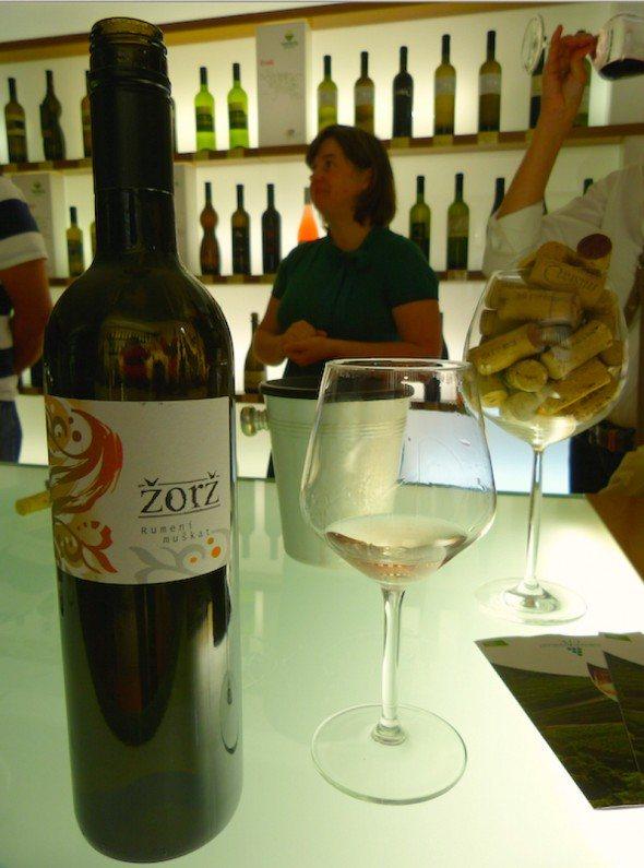 Vinoteka wine tasting