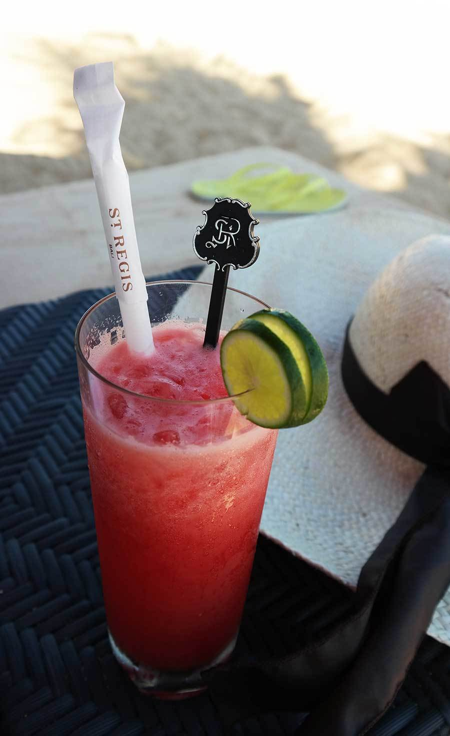 st-regis-bali-watermelon-juice