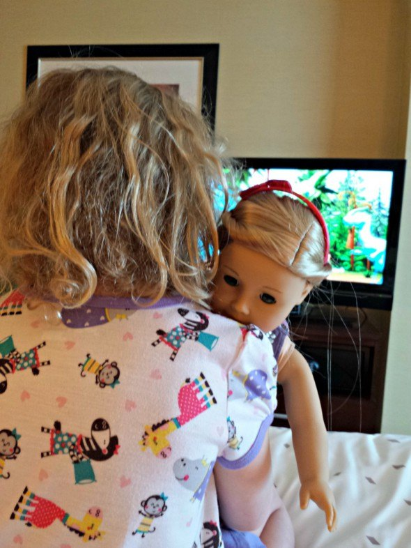 Hotel fun with the American Girl Doll