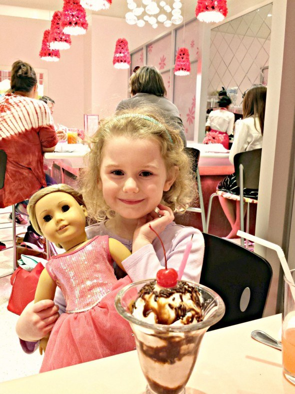 The American Girl Bistro is a great experience for American Girl fans and their dolls