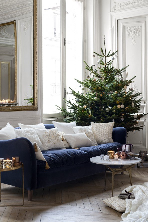HM christmas scandinavian home