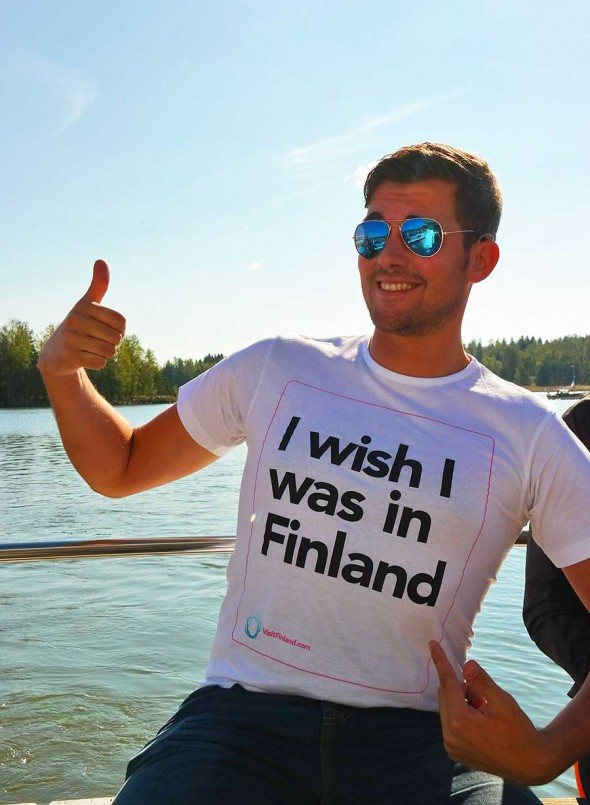 I wish I was in Finland ... easy to say, it's just that awesome.