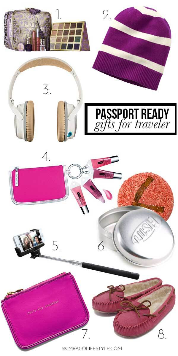 Best Christmas Gifts for Traveling Woman 2014 And stocking stuffers too