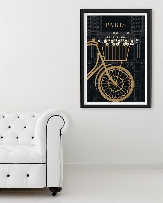 paris art print gift idea