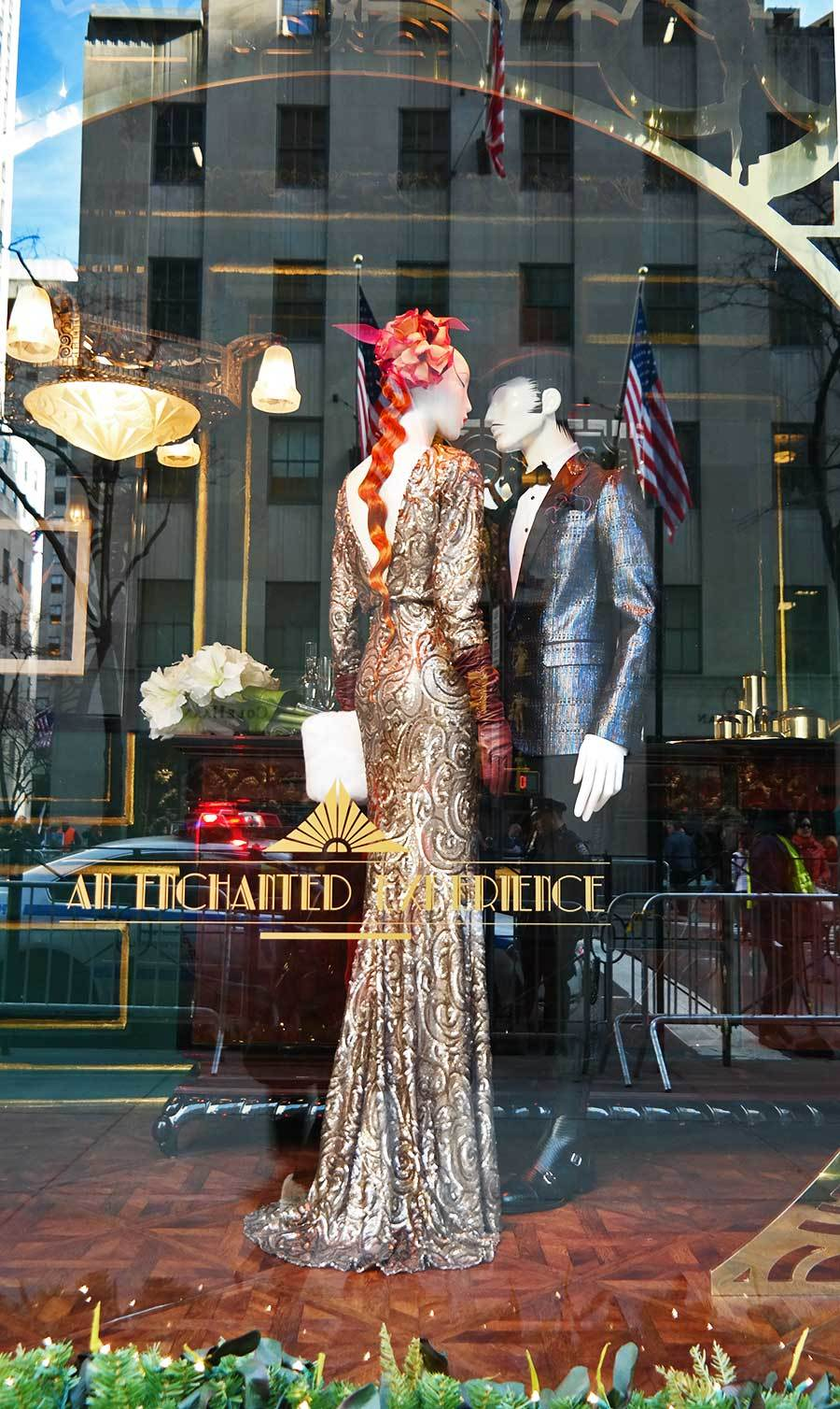Saks Fifth Avenue Christmas windows 2014
