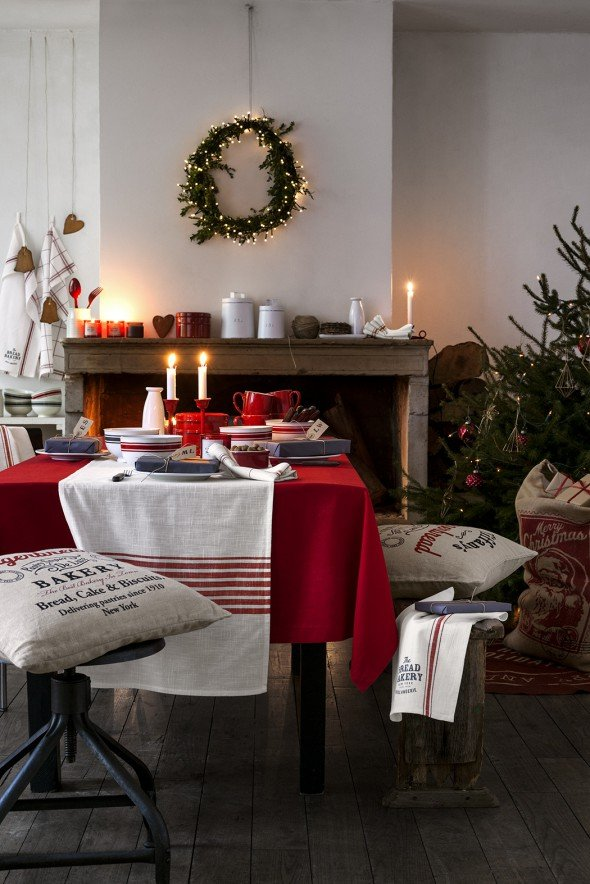 scandinavian modern country christmas