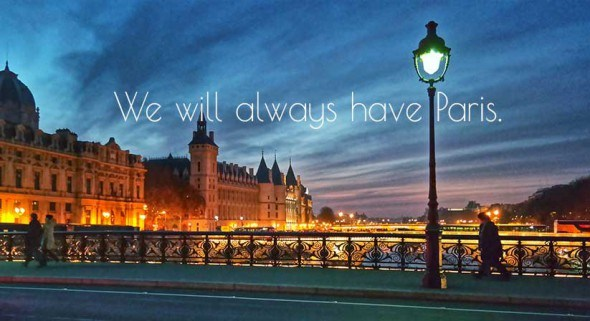 We will always have Paris. Photo by Katja Presnal @skimbaco