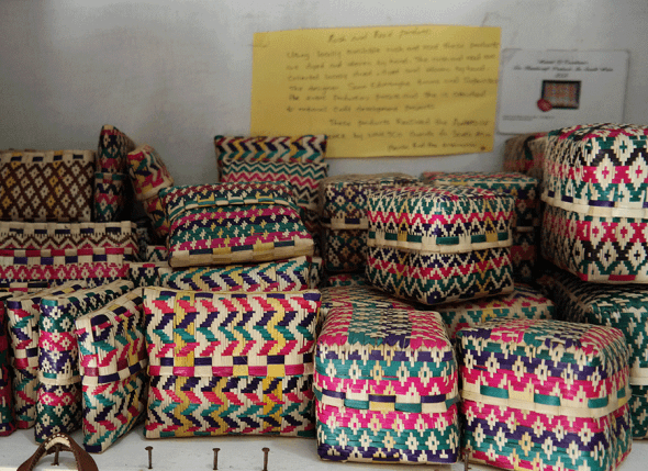 Baskets in Sri Lanka