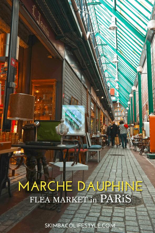 Marche Dauphine, aka; Marche aux Puces de Saint-Ouen flea market in Paris
