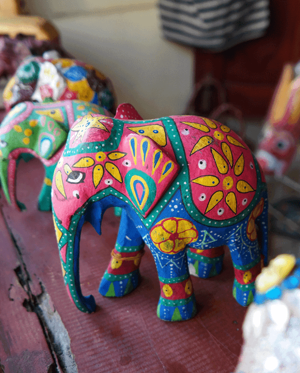 Elephant souvenir from Sri Lanka