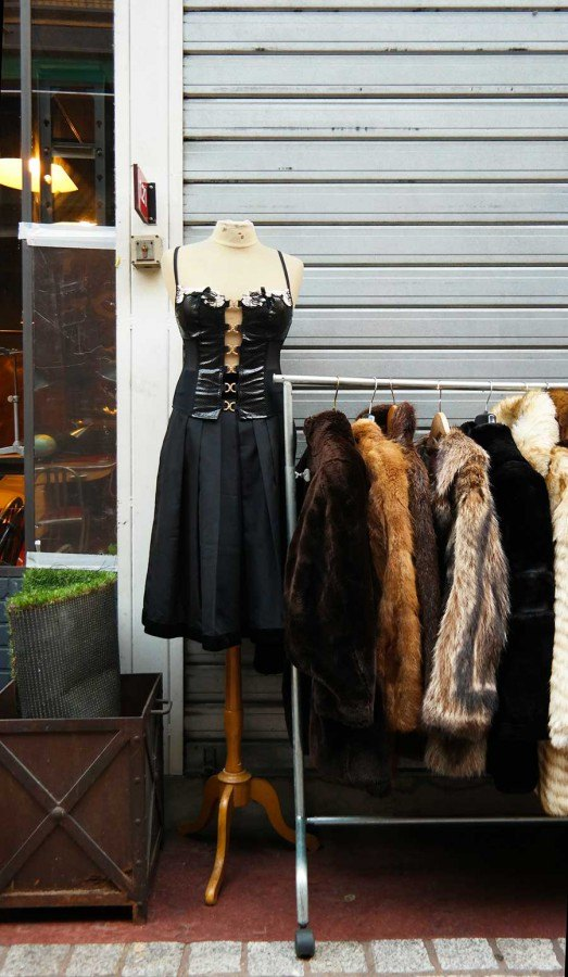 fashion finds from Paris flea market