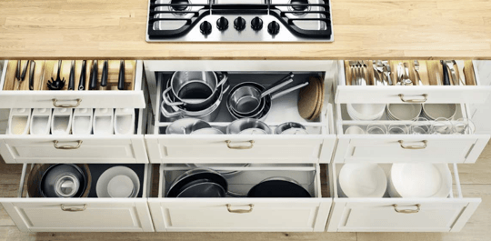 ikea sektion drawers amazing for organization